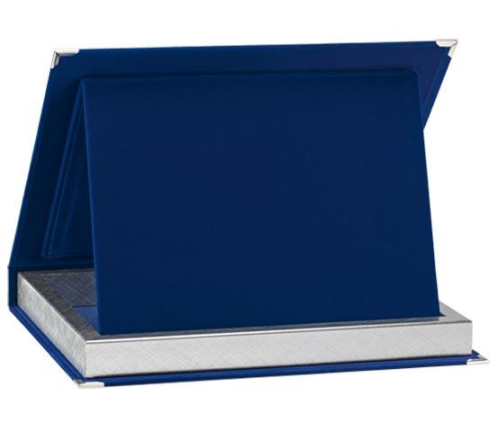 Astucci in velluto blu per targhe serie AS 10