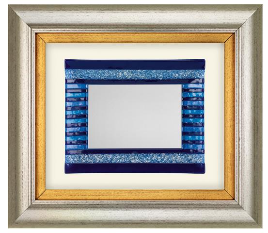 Cornice in PVC con vetro colorato serie CNR 2140 MUR 10