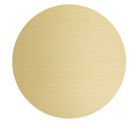Dischi in alluminio dorato per stampa transfer o sublimazione serie DISK 400D