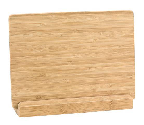 Porta targa in bamboo con base serie BA 11