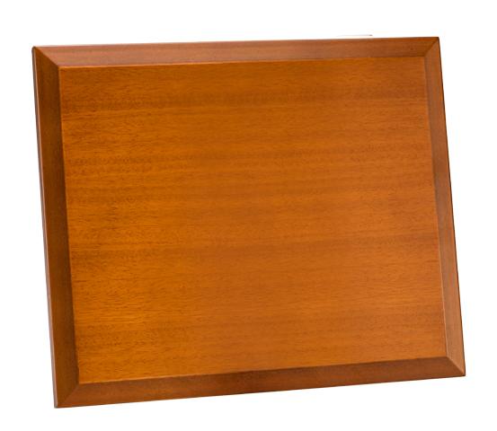 Porta targa in legno serie PTL 100