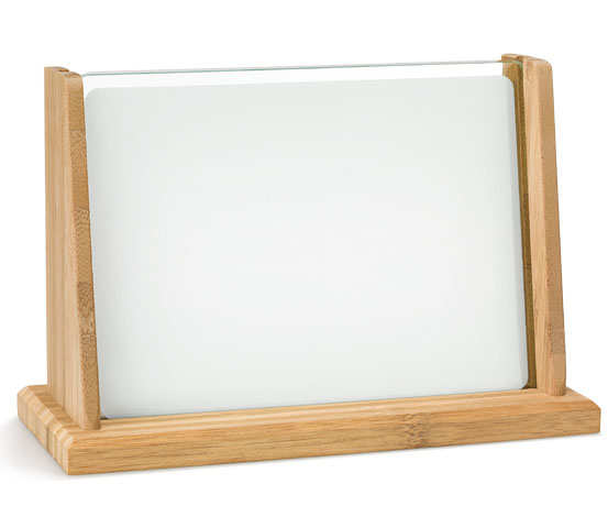 Porta targa in vetro sublimatico BA 4 SUB