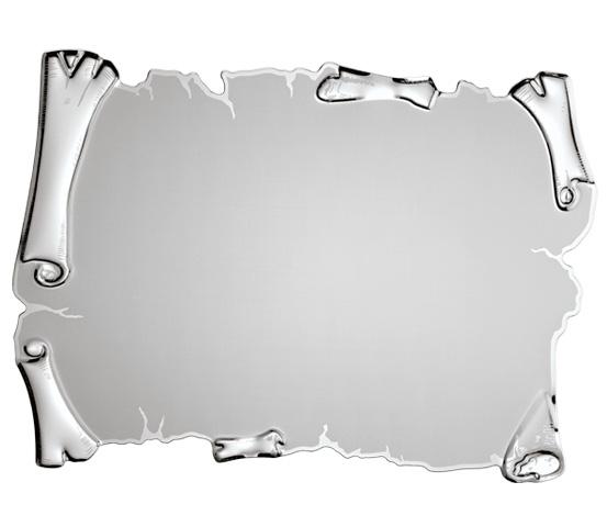 Targhe in alluminio argentato per stampa transfer o sublimazione serie TA 210