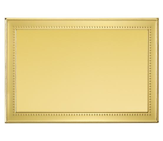Targhe in alluminio dorato per stampa transfer o sublimazione serie TA 200
