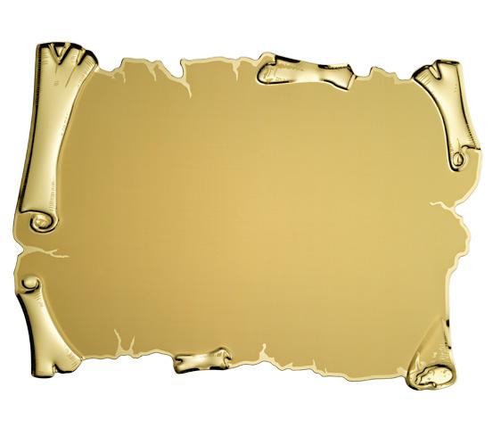 Targhe in alluminio dorato per stampa transfer o sublimazione serie TA 220