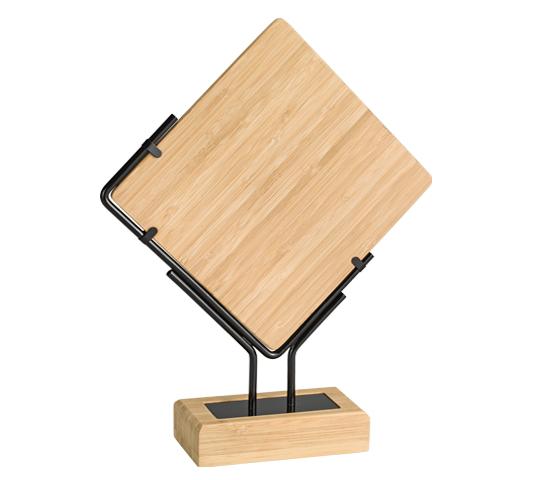 Trofeo in bamboo personalizzabile serie BA 8