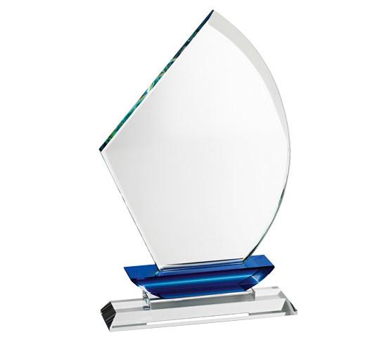 Trofeo in cristallo personalizzabile TR 10