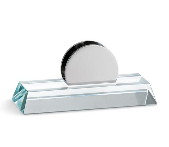 Base in vetro per plexiglass con supporto Serie K.BVTF 100