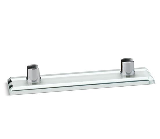 Base in vetro per plexiglass con supporti Serie K.BVTF 200