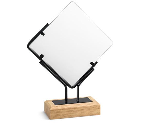 Supporto bamboo per plexiglass Serie K.BMB 200