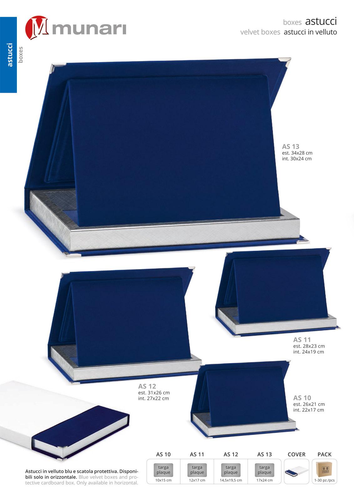 Blue Velvet Boxes Series AS 10