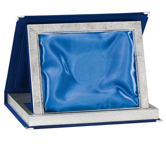 Blue Velvet Boxes with Satin Series AS 11STB