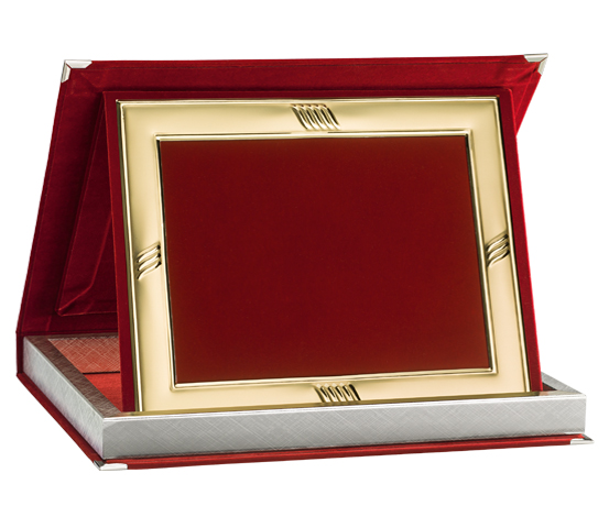 Red Velvet Boxes with Aluminum Profile Series AS 10RPFD