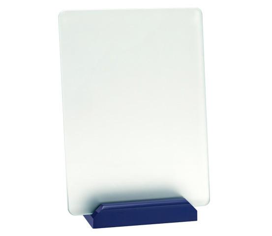 Acid-Etched Glass Plaque Holder Series CRI 3300