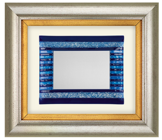 PVC frame with colored glass series CNR 2140 MUR 10