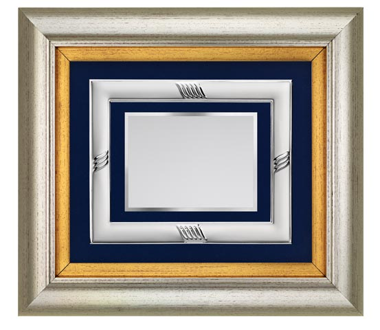 PVC frame with aluminum profile and plaque series CNR 2140 PFA