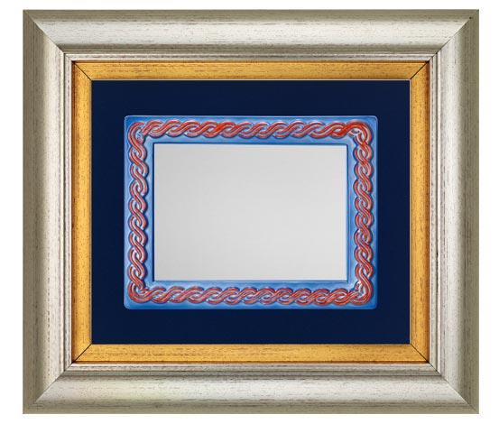 PVC frames with ceramic plaque holder series CNR 2140 PTC
