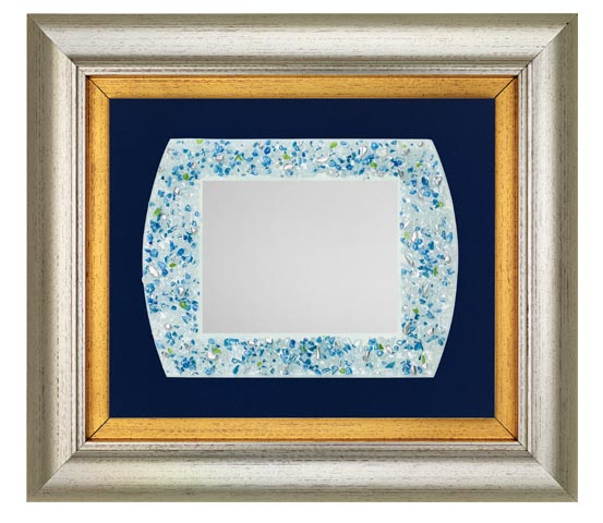 PVC frame with colored glass series CNR 2140 VE 200