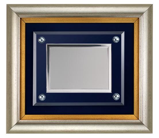 Cornice in PVC con vetro e targa serie CNR 2140 V