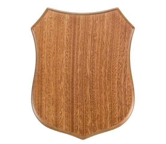 Crest in legno per targhe serie CREST 200