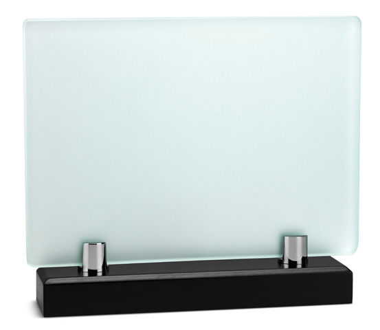 Acid-Etched Glass Plaque Holder Series VT 26
