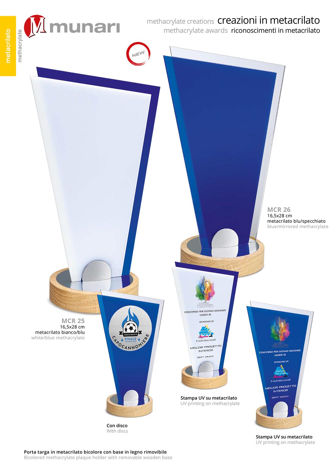 MCR 26 Methacrylate Awards