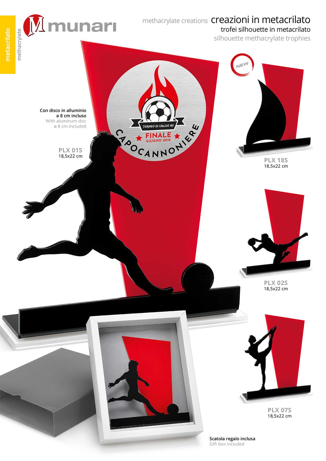 PLX 07S Plexiglas Sport Trophy