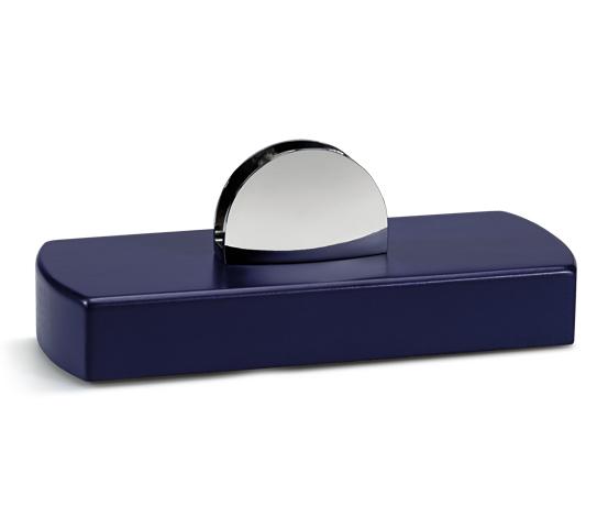Base in legno per plexiglass con supporti Serie K.BLF 400