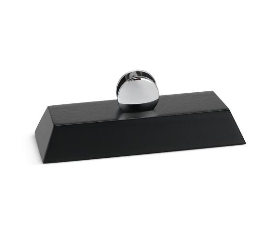 Base in legno per plexiglass con supporti Serie K.BLF 300