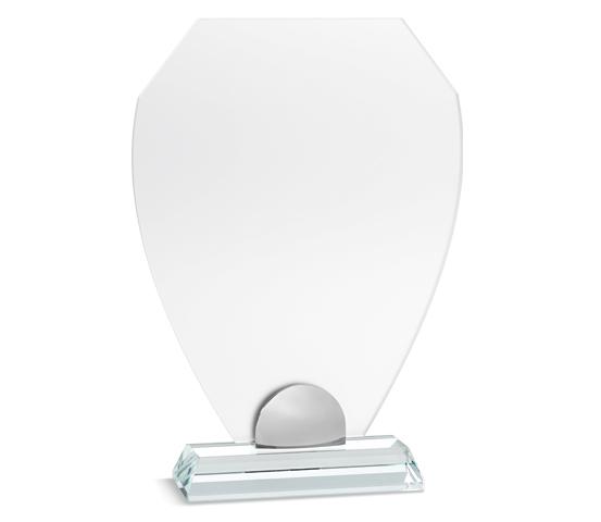 PLX 150 Targhe in plexiglass satinato con base in vetro