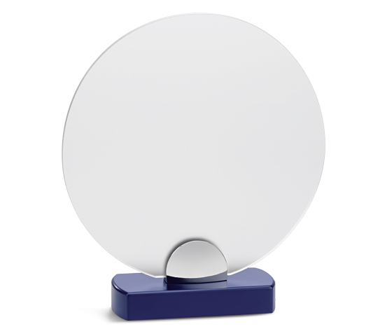 PLX 170 Frosted plexiglas plaque with wooden base